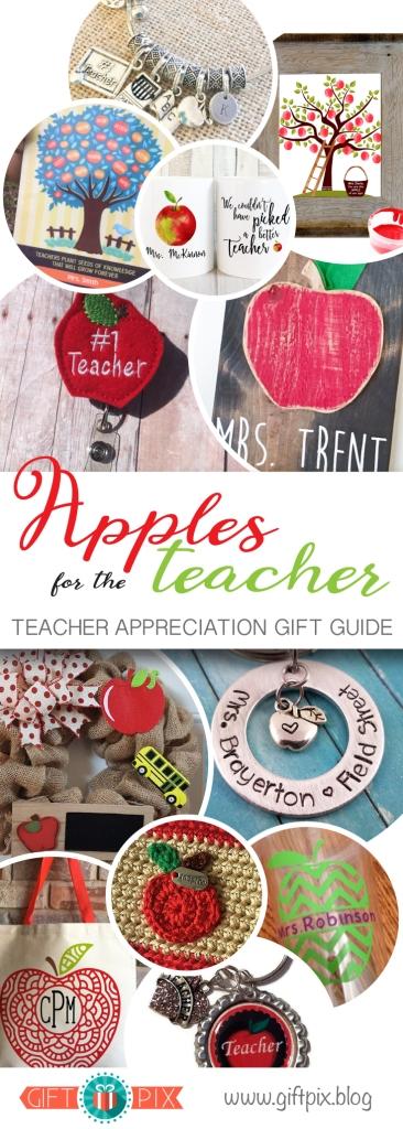 Apples for the Teacher Gift Guide