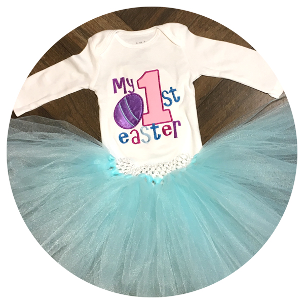 Baby's First Easter Outfit Tutu