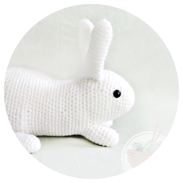 Crochet Bunny Stuffed Animal