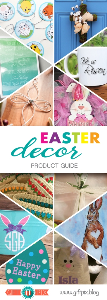 Easter Decor Product Guide Graphic