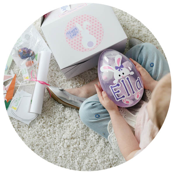 Easter Egg Box Personalized