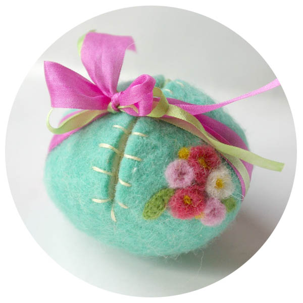 Easter Egg Felted Surprise
