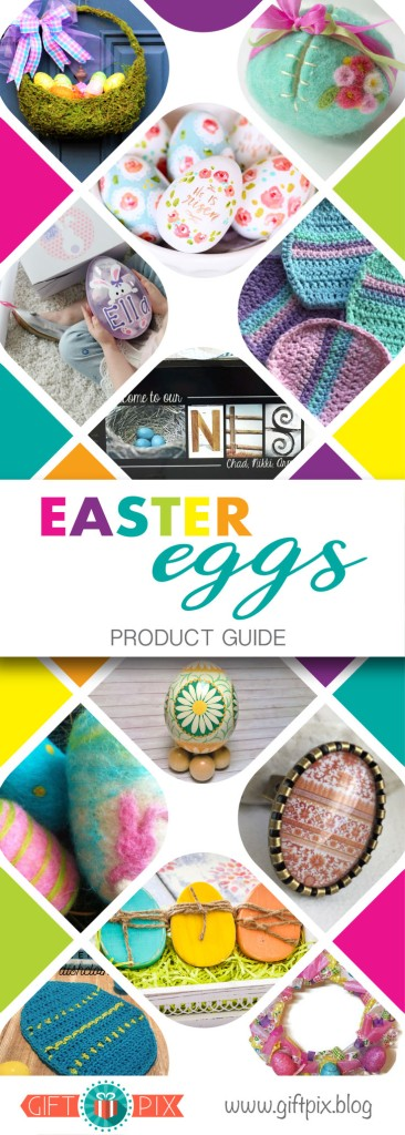 Easter Eggs Product Guide Graphic