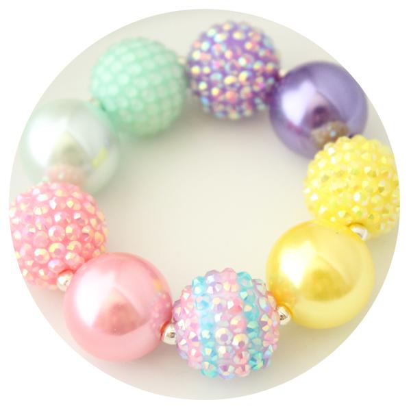 Easter Jewelry Chunky Bracelet