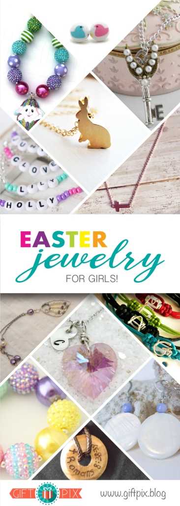 Easter Jewelry Gift Guide Graphic