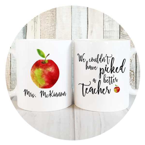 Personalized Teacher Mug
