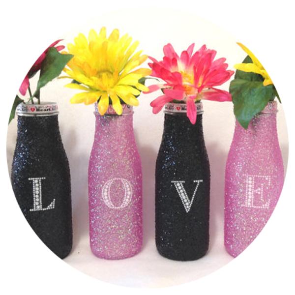Love Bottle Art Decor