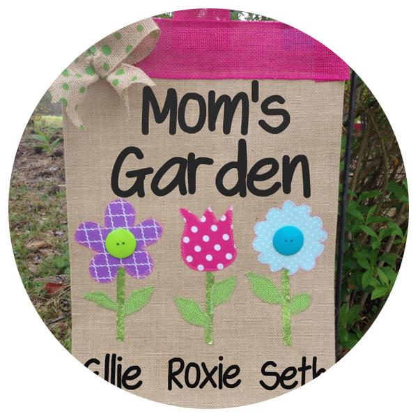 Mom Garden Flag