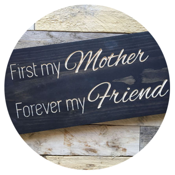Mothers Day Wood Sign