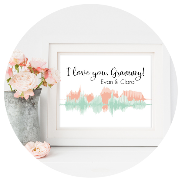 Voice Sound Wave Art Print